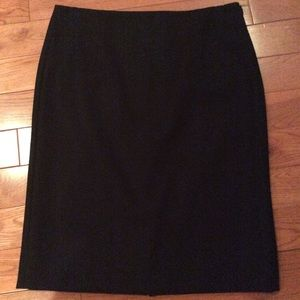 J.Crew Double Serge Wool Pencil skirt sz 10